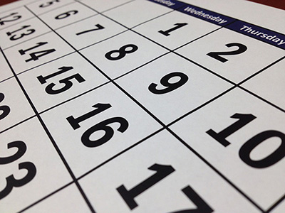 Post Road Consulting Event Calendar