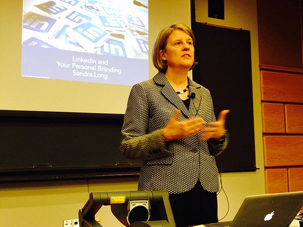 sandra long linkedin speaker at cornell university