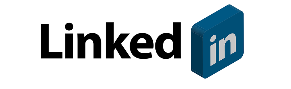 LinkedIn Logo With Text