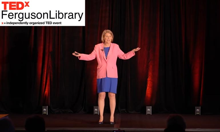Sandra Long's TEDx talk